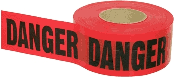 Safety Warning Equip: Barrier Tape