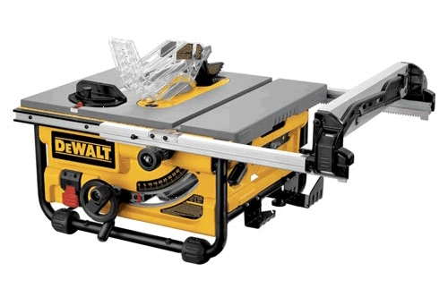 "Table Saw 10"" Compact Job Site"