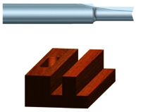 Power Router Bits: Straight Bits