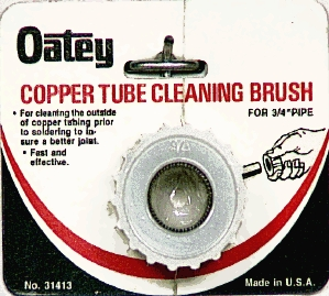 Plumber's Tools: Copper Cleaning