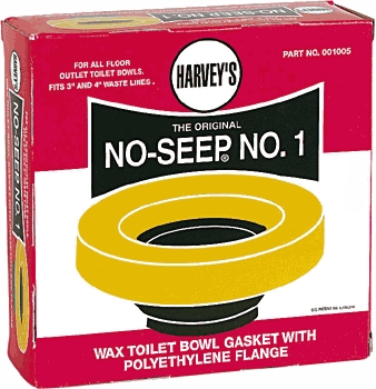 Toilets: Wax Rings & Other Flange Gaskets