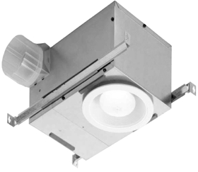 Bath Fan/Light Combo Recessed