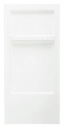 "Shower Backwall Ocs-32"" White"