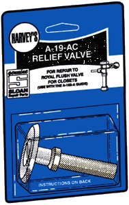 Valves: Sloan, Repair