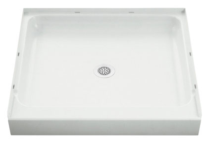 "Shower Base 36"" White"