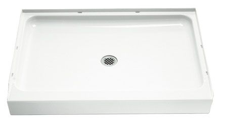 "Shower Base 48"" White"