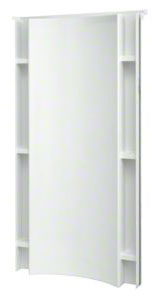 "Shower Backwall 36"" Accord Wht"