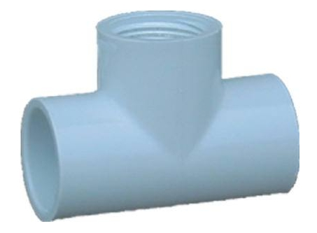 Fittings: Tees, Pvc, Sch 40