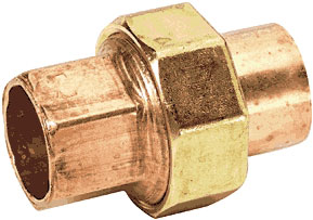 Fittings: Bushings, Unions, Sweat, Copper