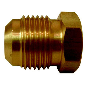 Fittings: Plugs, Flare, Brass