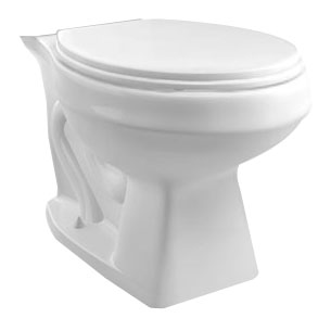 Toilets: Elongated Bowl