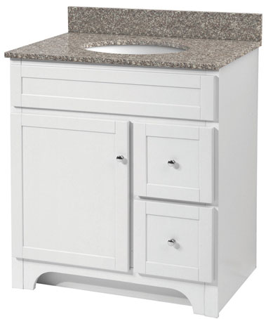Cabinets: Bath Vanity, Assembled