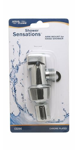 Shower Arm Mount Swivel Chrome