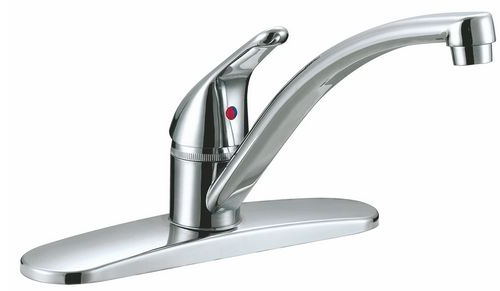 Faucet Kit 1-Handle Cp W/Spray
