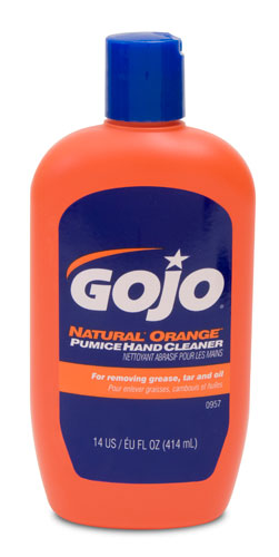 Hand Cleaner 14 Oz Org Pumice