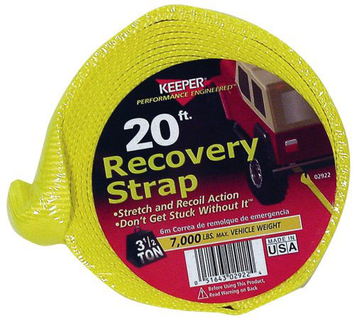 "Recovery Strap 2""x20' 7m# Swl"