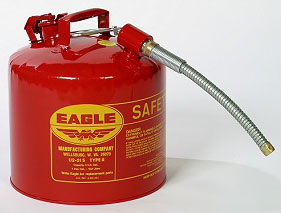 Safety Gas Can 5gl Type Ii Mtl
