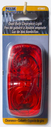 Clearance Light 2 Bulb Red