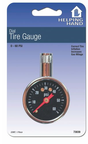 Tire Pressure Gauges: Pencil Type