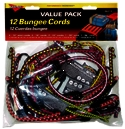 Bungee Cord Assorted.12pk