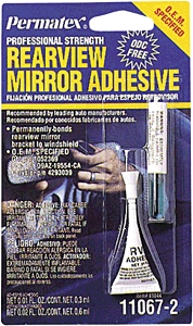 Auto Compounds: Windshield & Mirror Repair