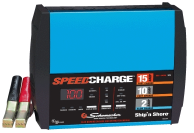 Battery Charger 15/10/2 Amp
