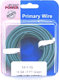 Auto Wire: Primary, Plastic Coated