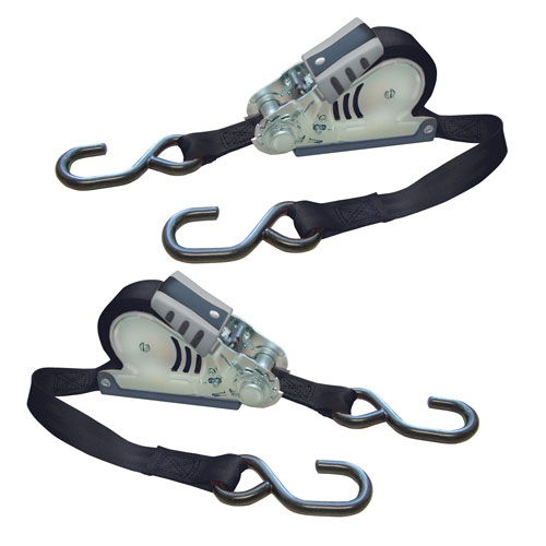 Tie Down Straps: Webbing, Rope, Rope Clamps