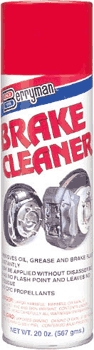 Auto Chemicals: Brake Cleaners