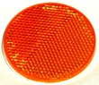 "Reflector Mobile Home 2"" Amber"