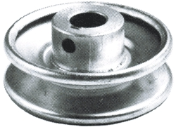 "Pulley 3-1/2""x5/8"" Steel"