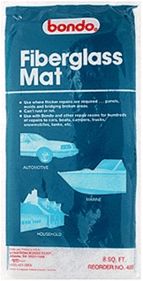 Mat Fiberglass 8 Sq Ft
