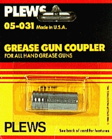 Grease Guns: Hose Couplers