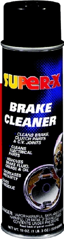 Brake Cleaner Clor. 19 Oz
