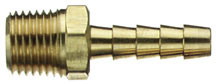 "Hose End 3/8id S602 1/4"" Male"