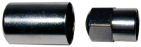 Tire Valve Sleeve Chrome 4/Pk