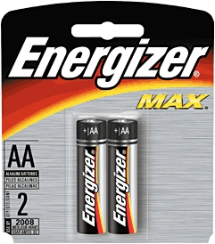 Battery Aa Alkaline 2/Cd