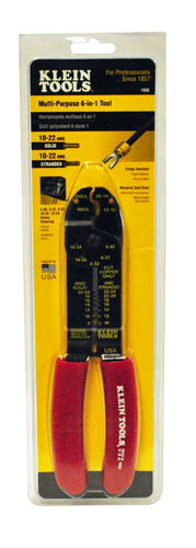 Crimping/Wire Stripper 6-In-1