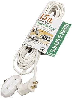Extension Cords: Remote Switches