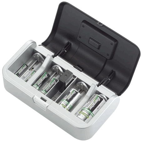 Battery Charger Aa/Aaa/C/D/9v