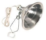 "Clamp Light W/8.5""reflector"