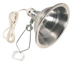"Clamp Light W/10.5"" Reflector"