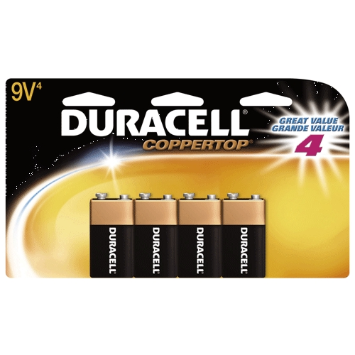 Battery 9v Valuepak 4-Pk Dw