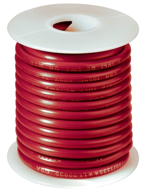 Primary Wire 12' 12ga Red