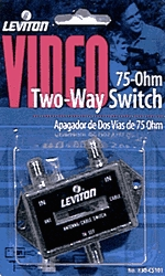 Signal Switch 2-Way Coax