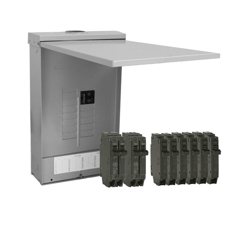 Load Centers: Outdoor Main Breaker