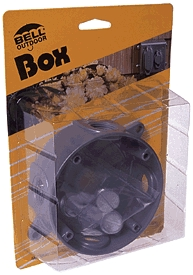 "Box 4""round Outdoor Gray"