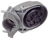 "Conduit Cap 1/2"" Entr Clamp"
