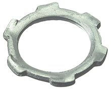 Conduit Fittings: Rigid, Locknuts, Steel