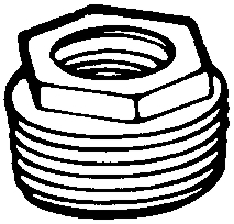 Conduit Bushing 1-1/2x1-1/4""